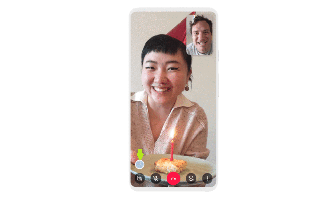 Google Duo Moments