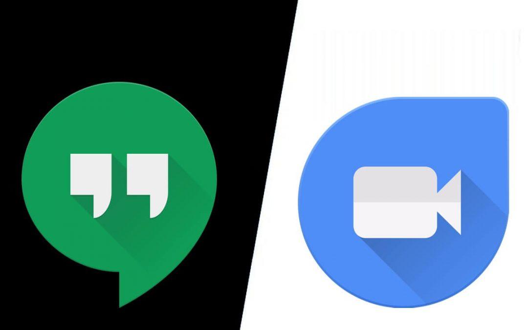 Google Duo vs Hangouts