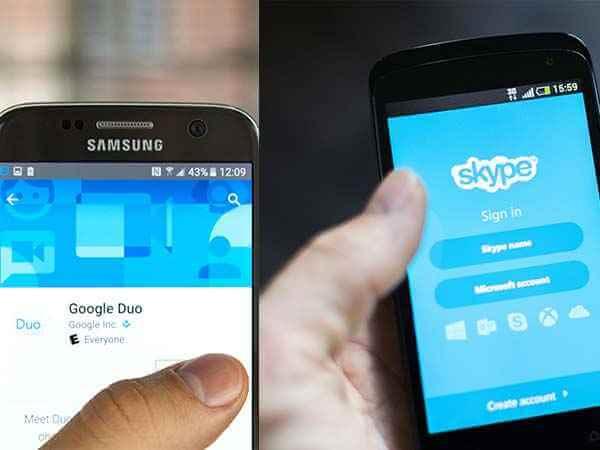 Google Duo vs Skype