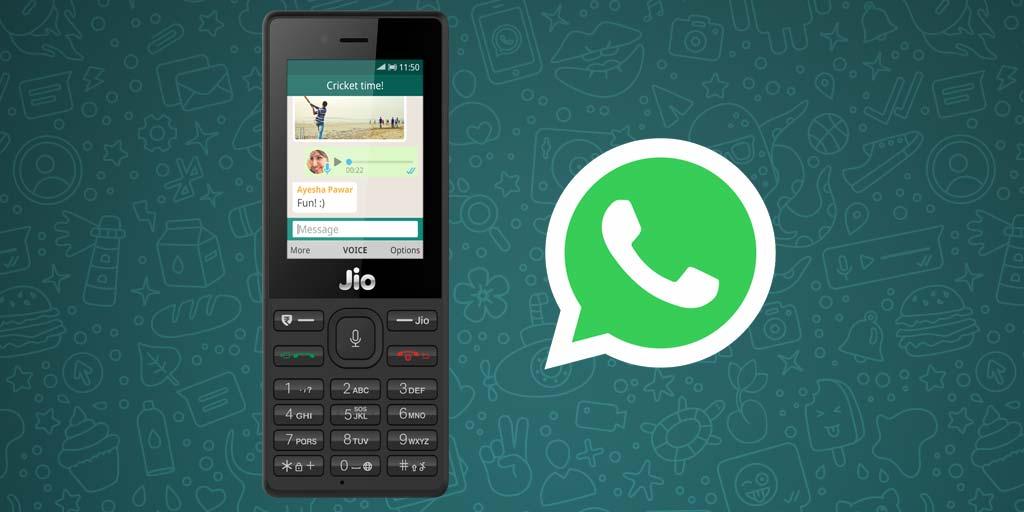 Whatsapp for Jio Phone
